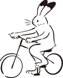 自転車うさぎ、オリジナル