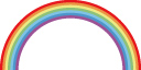 虹がでたなら