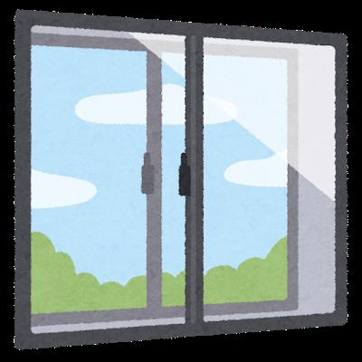 窓の向こう