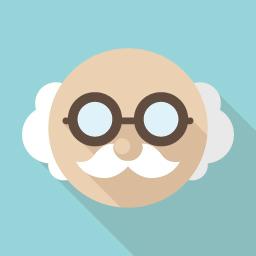 博士のメガネ